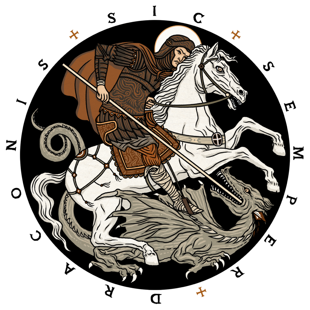'Thus Always To Dragons' - Sic Semper Draconis and the fight of faith