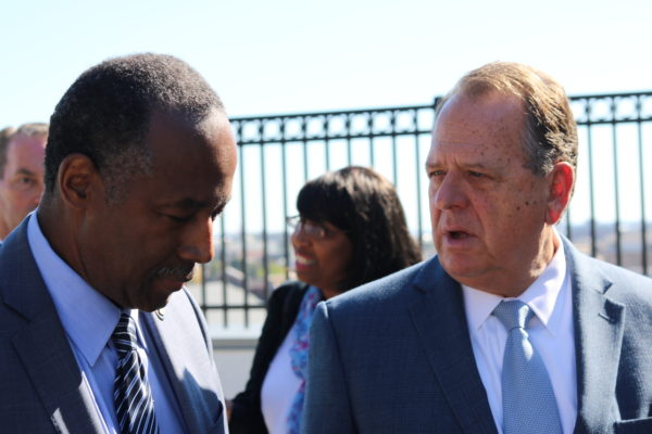 Ben Carson visits Baltimore for tour of addiction recovery facility