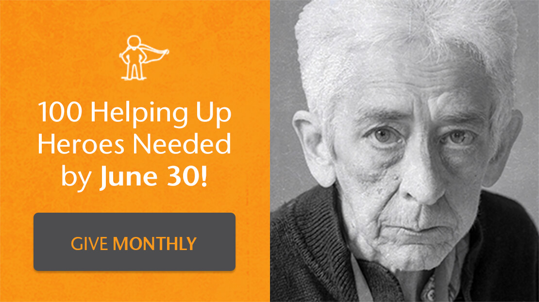100 Helping Up Heroes Needed by June 30!